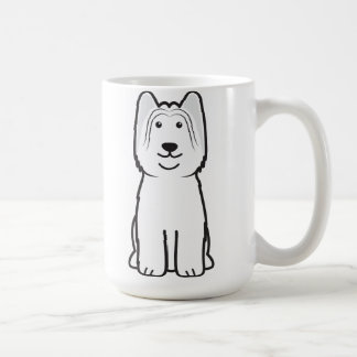 Briard Dog Cartoon Coffee Mug