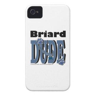 Briard DUDE iPhone 4 Case