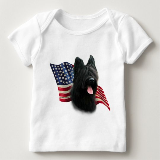 Briard Flag Baby T-Shirt