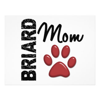 Briard Mom 2 Flyer