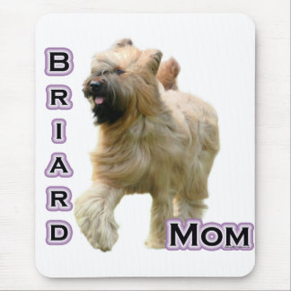 Briard Mom 4 Mouse Pad