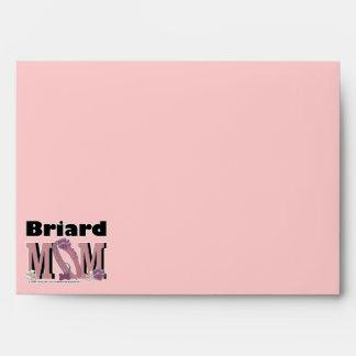 Briard MOM Envelope