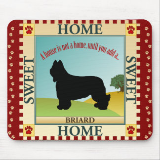 Briard Mouse Pad