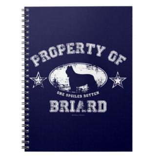 Briard Notebook