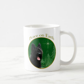 Briard Peace Coffee Mugs