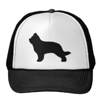 Briard Silhouette Trucker Hat