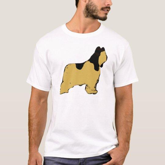 briard silohuette T-Shirt