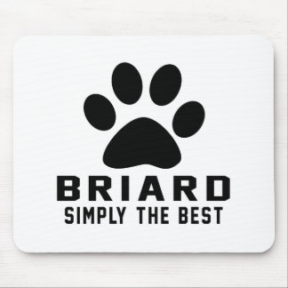 Briard Simply the best Mousepads