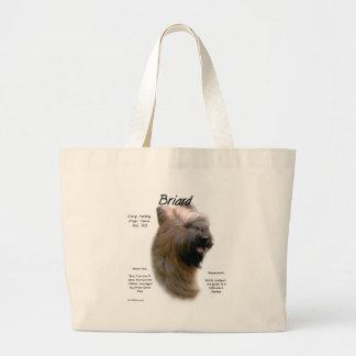 Briard (tawny) History Design Tote Bag