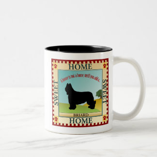 Briard Two-Tone Coffee Mug