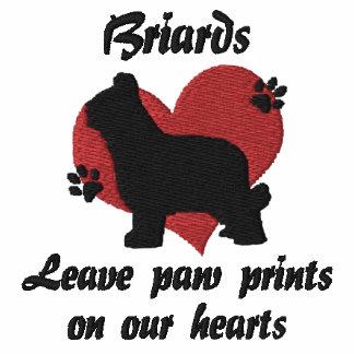 Briards Leave Paw Prints
