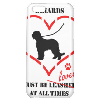 Briards Must be Loved iPhone 5C Case