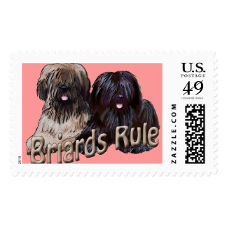 Briards Rule Briard Stamp Stamps
