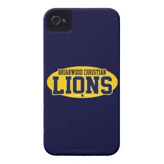 Briarwood Christian; Lions Case-Mate iPhone 4 Case