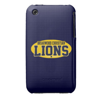 Briarwood Christian; Lions iPhone 3 Case-Mate Case