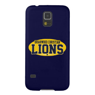 Briarwood Christian; Lions Galaxy S5 Cases