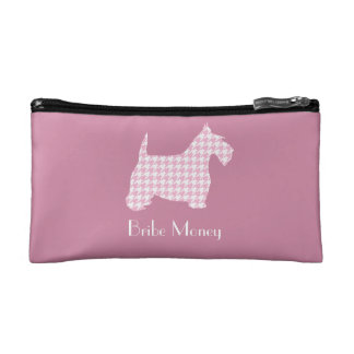 Bribe Money (Ribbon Holder) Personalize Cosmetic Bag