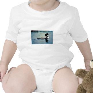 Bribón común en el agua traje de bebé