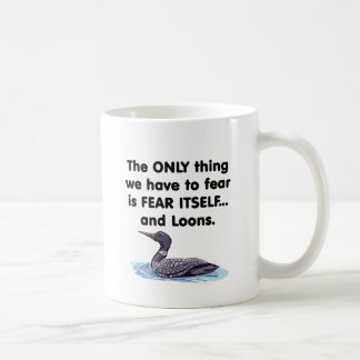 Bribones del miedo sí mismo tazas de café
