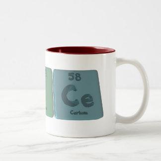 Brice as Bromine Iodine Verium Two-Tone Coffee Mug