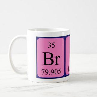 Brice periodic table name mug