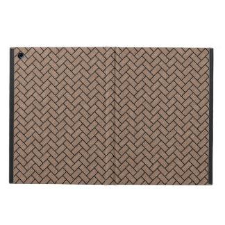 BRICK2 BLACK MARBLE & BROWN COLORED PENCIL (R) CASE FOR iPad AIR