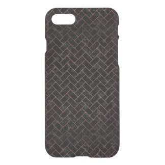 BRICK2 BLACK MARBLE & COPPER BRUSHED METAL iPhone 8/7 CASE