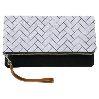 BRICK2 BLACK MARBLE & WHITE MARBLE (R) CLUTCH