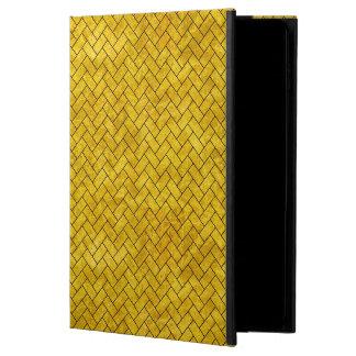 BRICK2 BLACK MARBLE & YELLOW MARBLE (R) POWIS iPad AIR 2 CASE