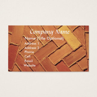 Brick Abstract Business Card