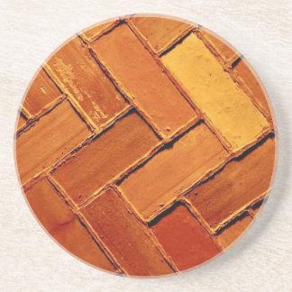 'Brick Abstract' Coaster
