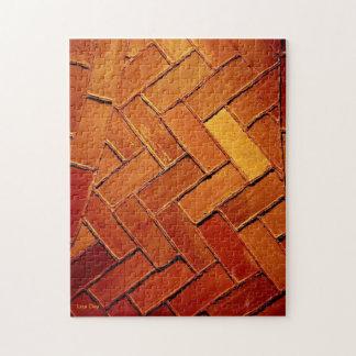 'Brick Abstract' Jigsaw Puzzle