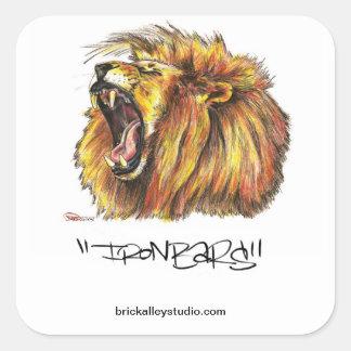 Brick Alley Studio Sticker