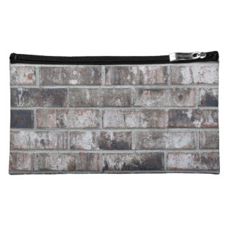 Brick and Mortar printed not made from bricks Makeup Bag