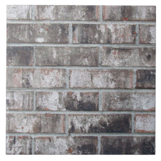 Brick and Mortar (printed: not made from bricks) Ceramic Tile