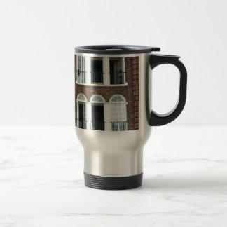 Brick Apartments Travel Mug