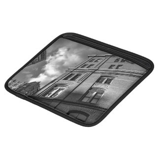 Brick architecture iPad sleeve