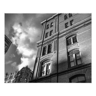 Brick architecture photograph