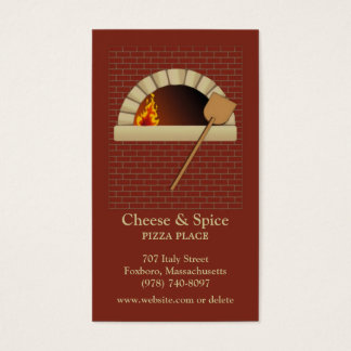 Brick Bakery Business Card