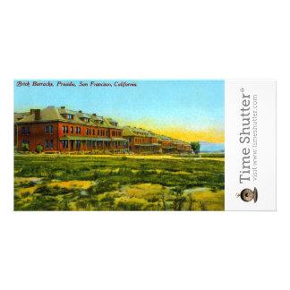 Brick Barracks Photo Card Template