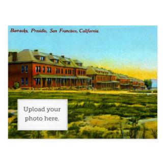 Brick Barracks Postcard