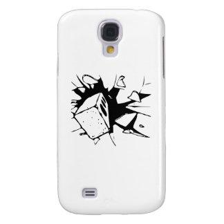 Brick Breaking Window by Chillee Wilson Galaxy S4 Case