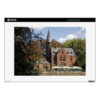 Brick church on Minnewater Laptop Decal
