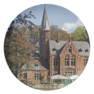 Brick church on Minnewater Party Plate