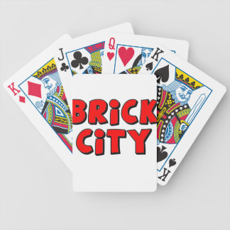 Brick City by Customise My Minifig Bicycle Playing Cards