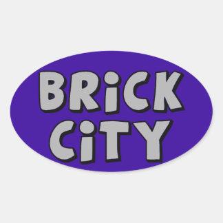 Brick City by Customise My Minifig Sticker