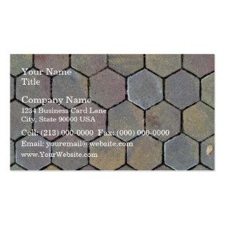 Brick Cobbles Pavement Business Card