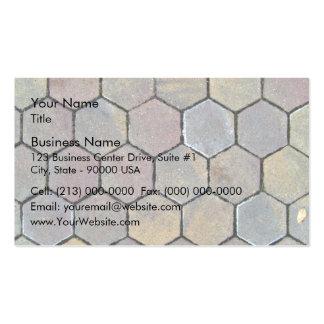 Brick Cobbles Pavement Business Card Templates
