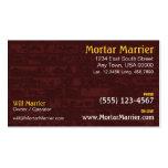 Brick Construction Business Card