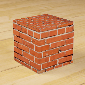 Brick construction favor box